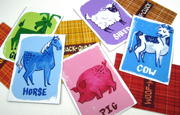 Barnyard Flashcards