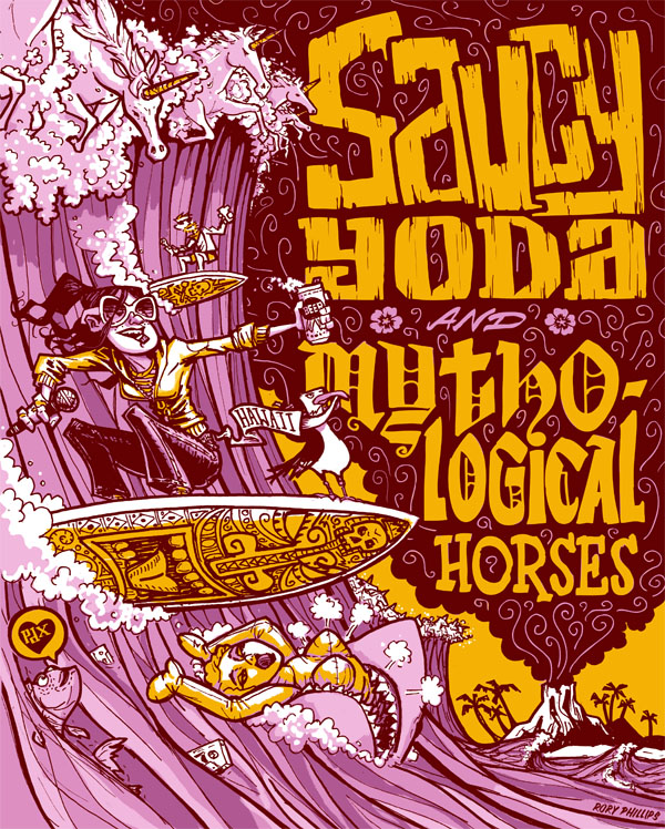 Saucy Yoda Hawaii Tour