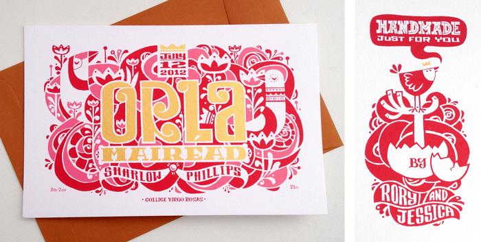 GoGo Picnic Birth Announcement Card Rory Phillips – Birth Announcement Design