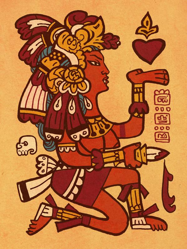 Aztec Vampire Queen