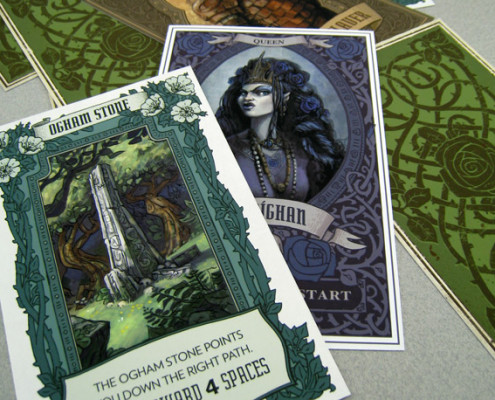 Blackbriar Board Game Cards