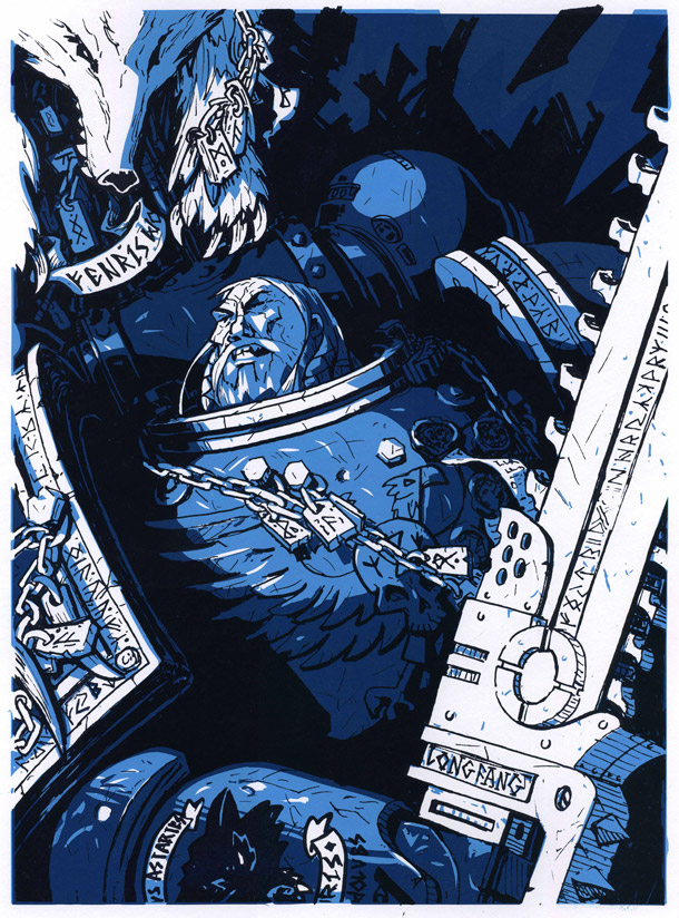 Hero 02 Space Wolf