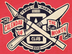 calendar of the month club logo
