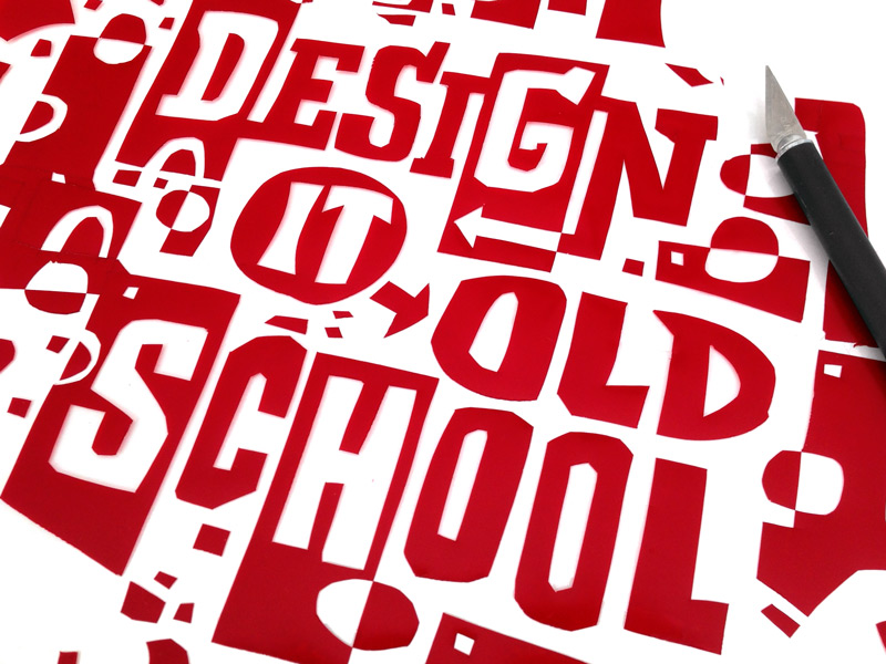Design it Old School with Rory Phillips