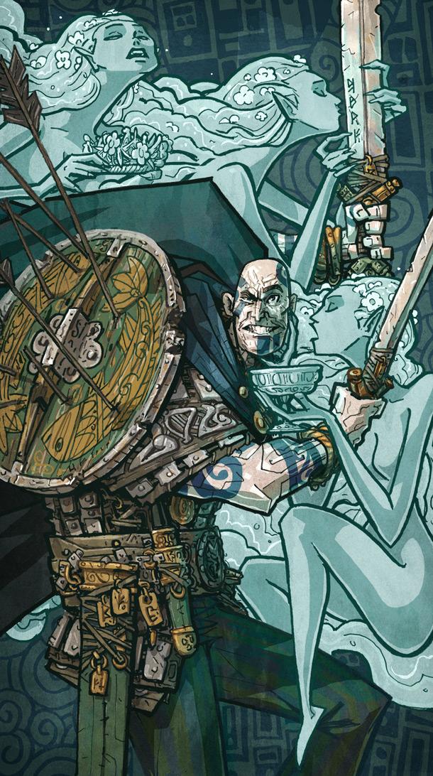 Rolemodels Berserker RPG Character Card
