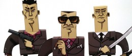Customized Yakuza papertoy gang