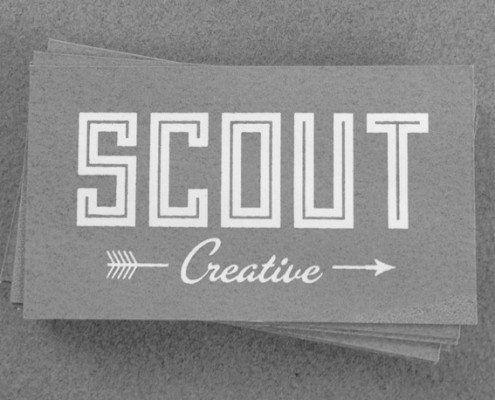 Scout business cards