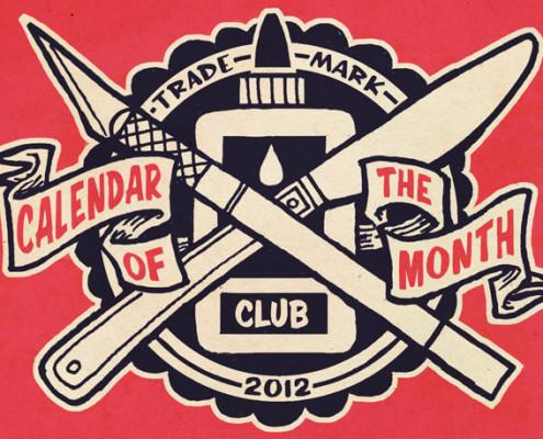 calendar of the month club logo