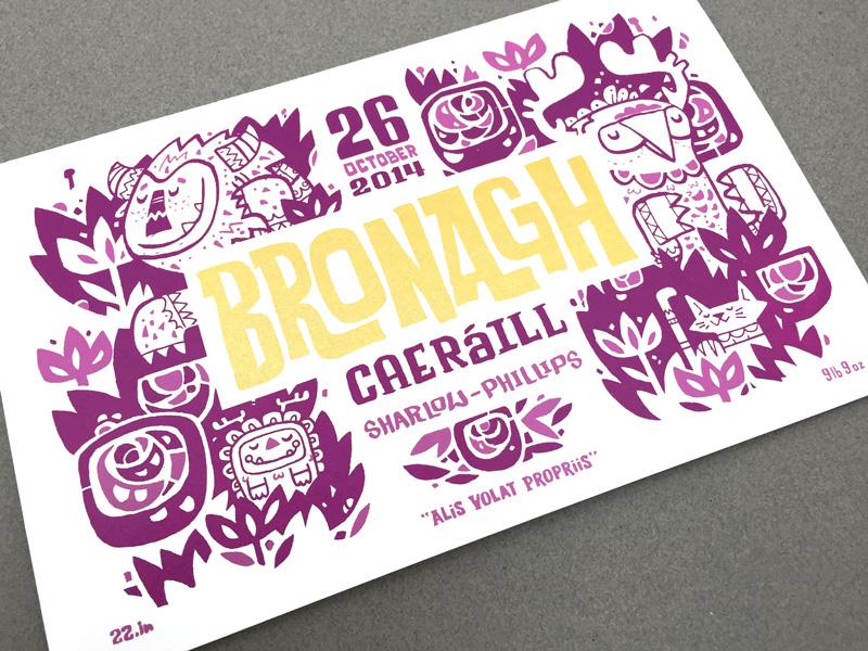 Bronagh Birth Announcement