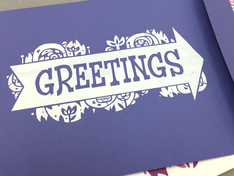 Bronagh Birth Announcement envelope
